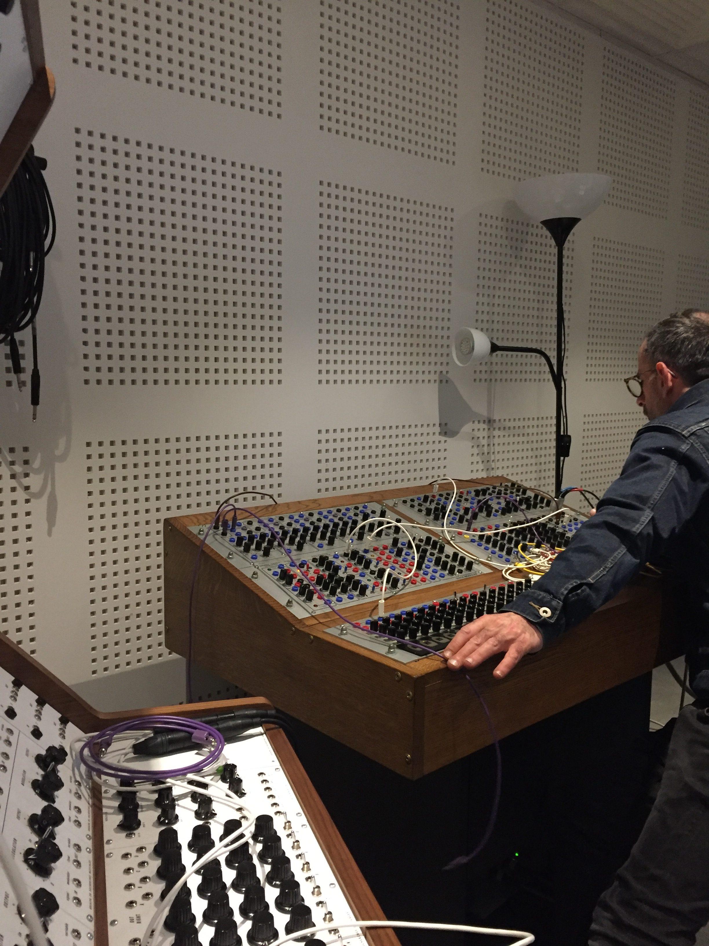 Ràdio Web MACBA Residency at INA GRM in Paris